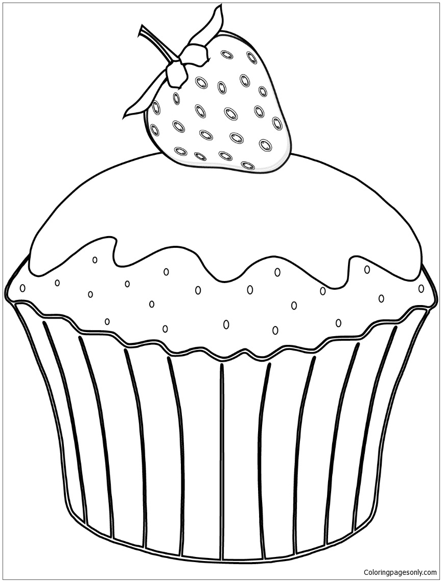 Muffin Drawing at GetDrawings.com | Free for personal use Muffin ...