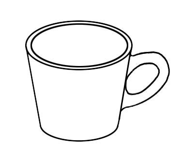 mug line drawing at getdrawings com free for personal use mug line