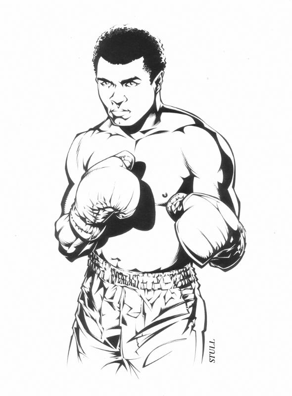 590x800 Muhammad Ali, In Rob Stull's September 2008 Afro American Comic