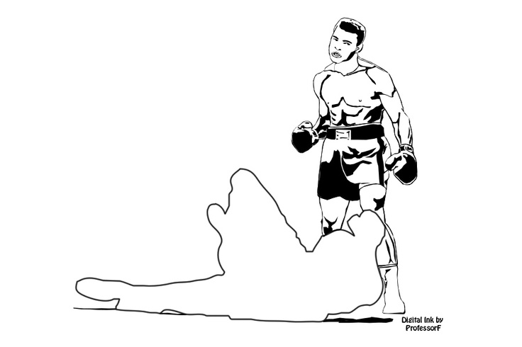 736x490 Muhammad Ali When He Was Cassius Clay Professorf's Digital Ink