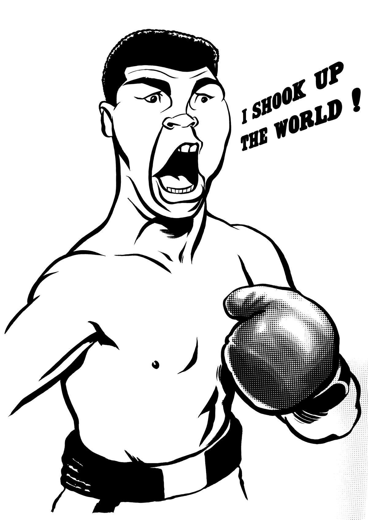 1200x1698 Muhammad Ali Ken Lowe Illustration