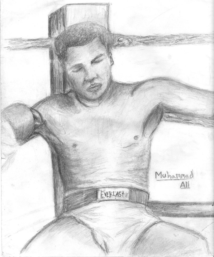 815x981 Muhammad Ali Time Cover By Burninghealz