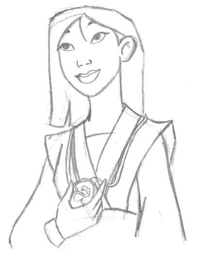 406x533 Mulan Sketches Original Mulan By Nuffxmaster Love