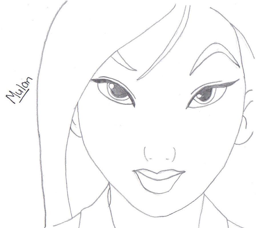 900x796 Pics For Gt Mulan Pencil Sketch Art Sketches