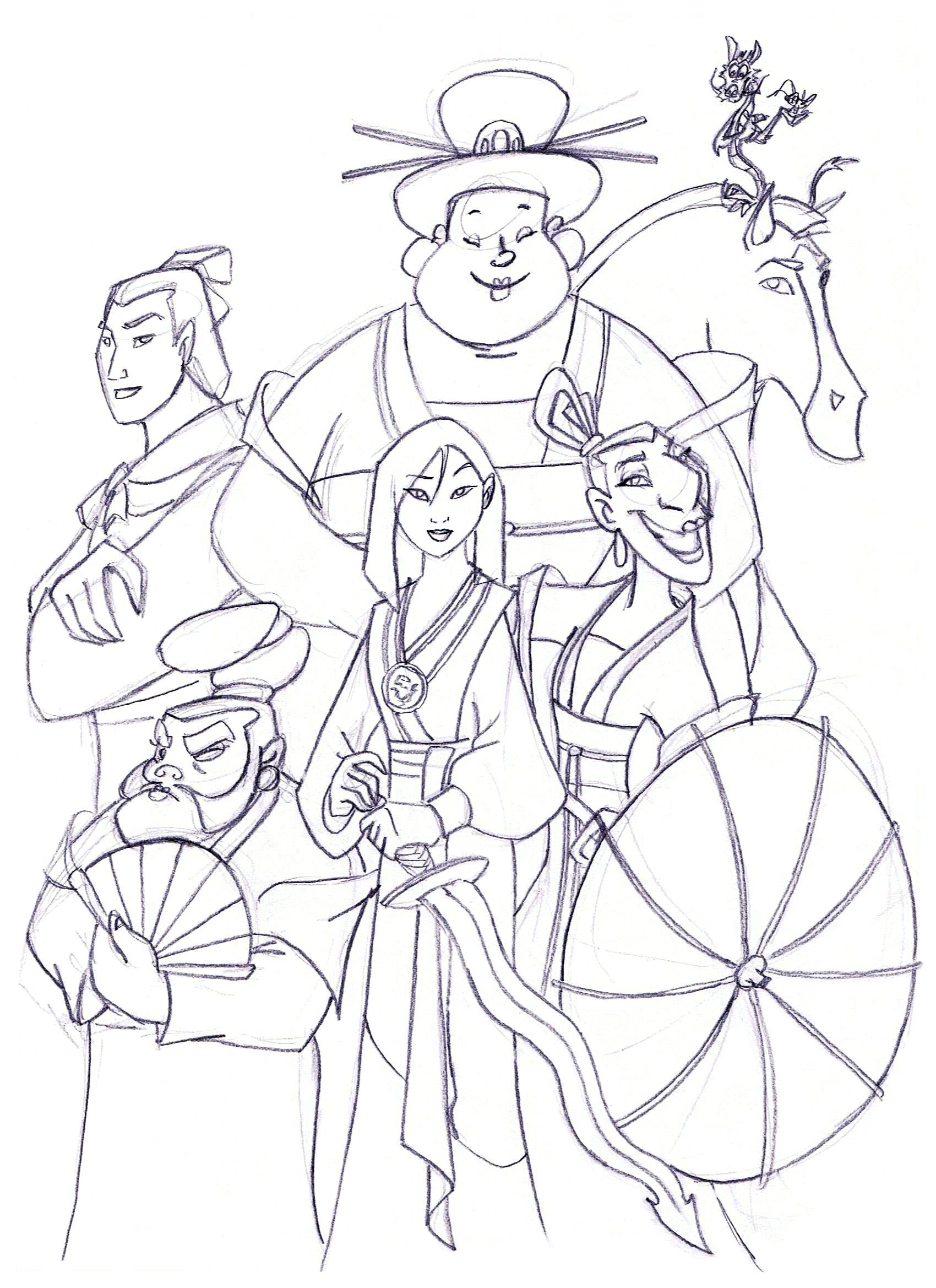 1700x2338 Team Mulan!