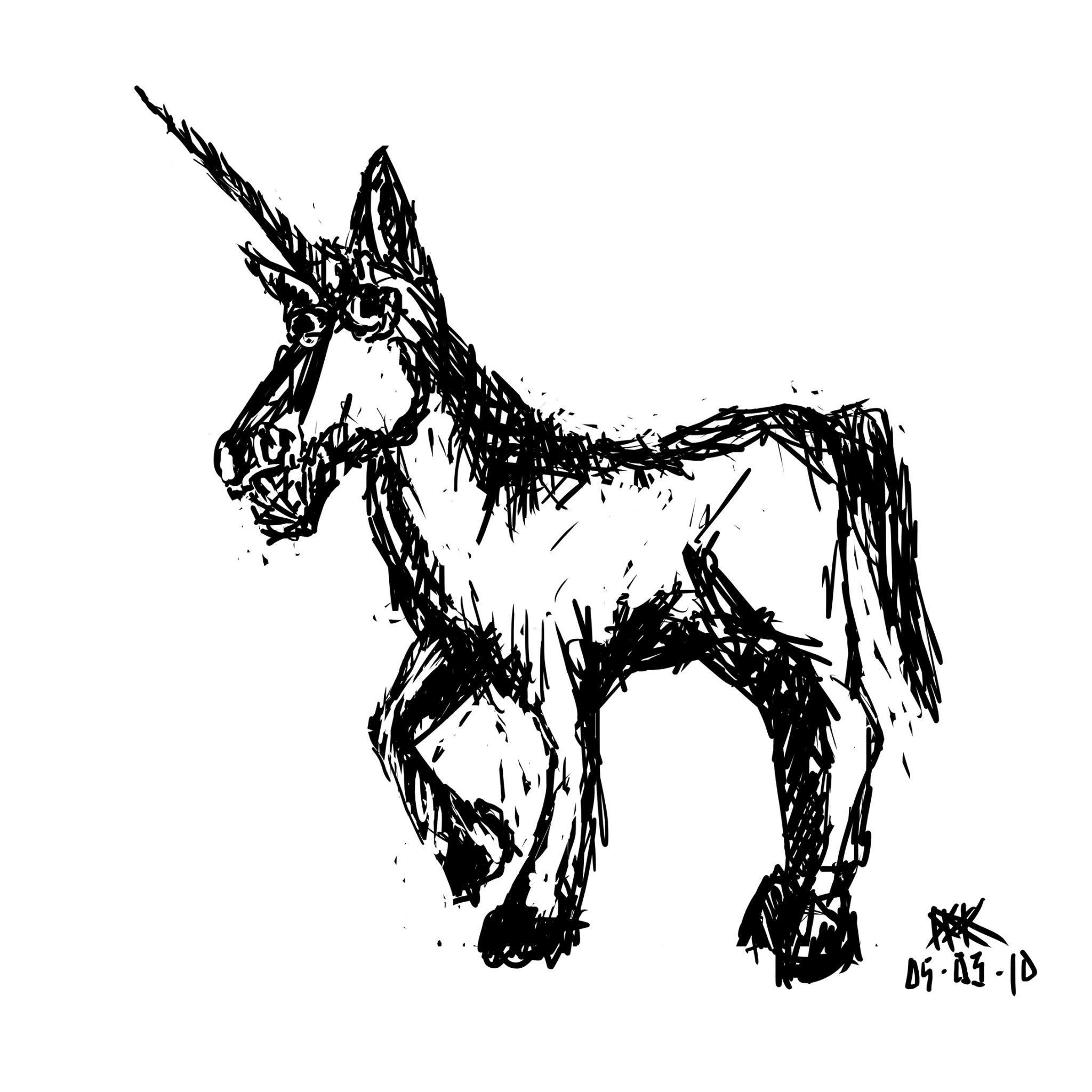 2048x2048 Unicorn 1 10,000 Bad Drawings