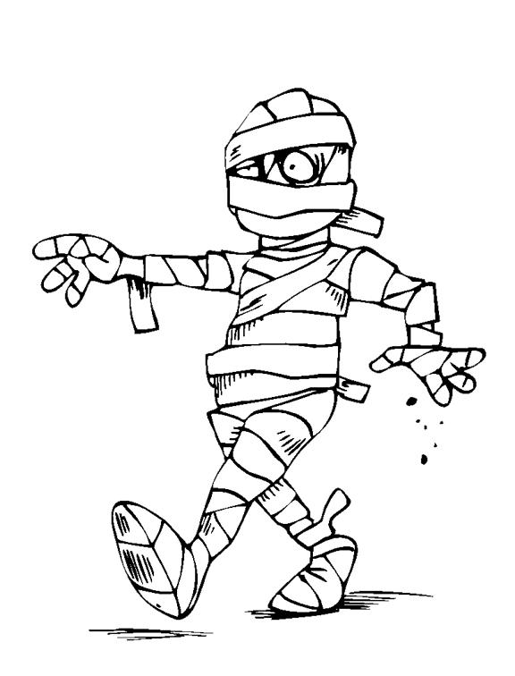 576x756 Mummy Drawing For Kids Mummy Pencil Drawings
