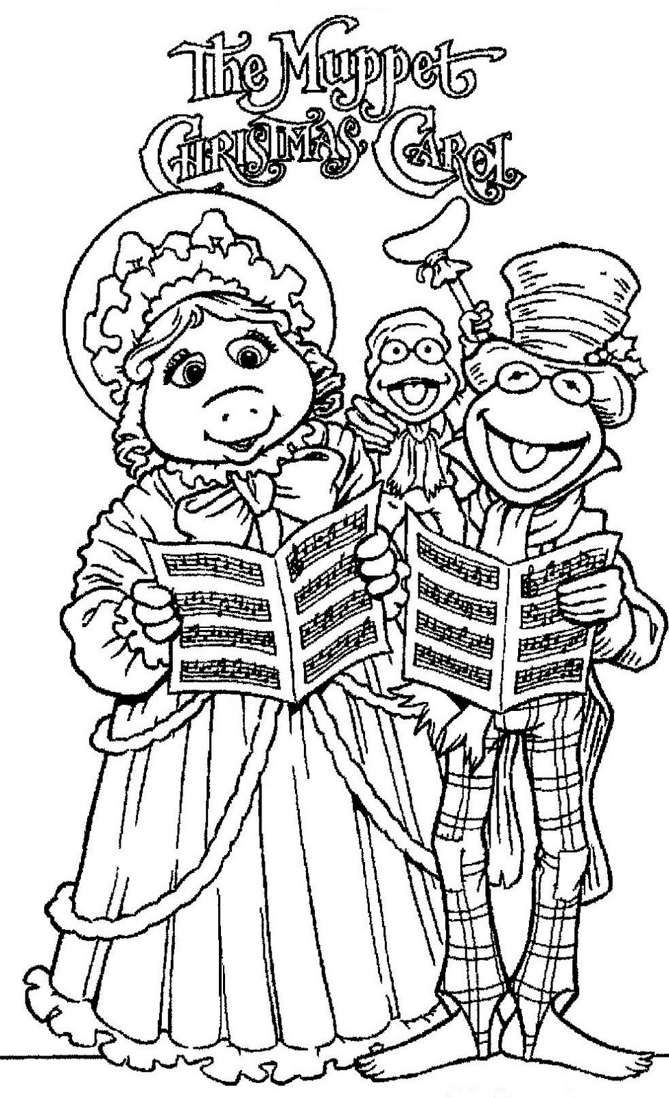 975x1600 The Muppets Drawings Coloringchild Coloring And Children