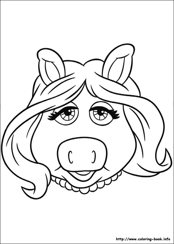 567x794 The Muppets Coloring Picture Muppet Classroom
