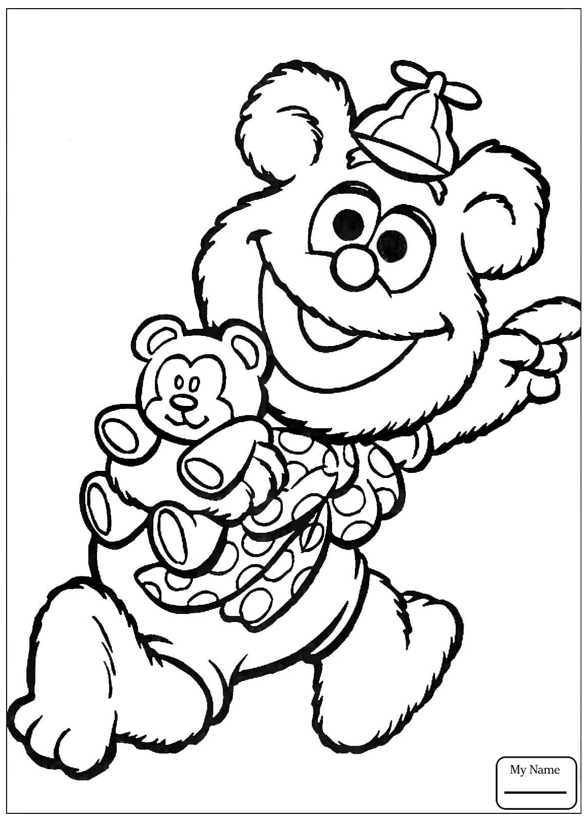 1156x1620 Muppets Animal Coloring Pages Animal Muppet Show