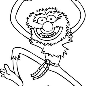 300x300 Animal Muppet Coloring Pages Coloring Page
