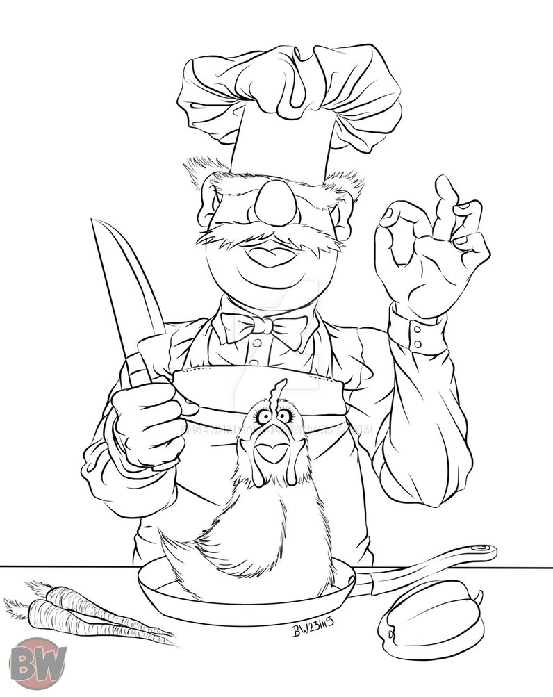 796x1003 Swedish Chef From The Muppets By Sekhmet17