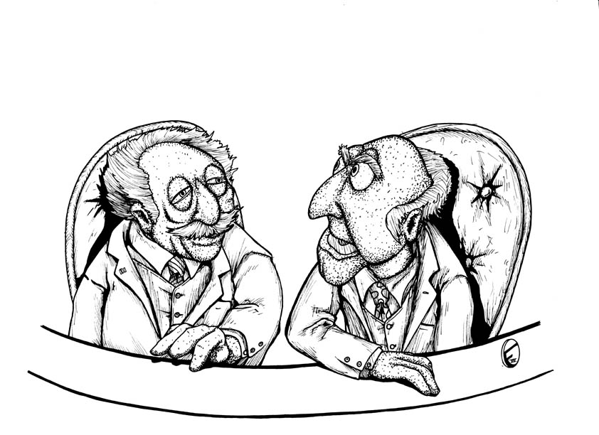 842x612 The Muppets' Statler And Waldorf By Deeplydapper