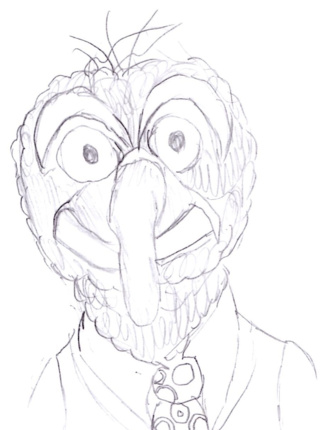 320x430 Muppet Drawings On Paigeeworld. Pictures Of Muppet