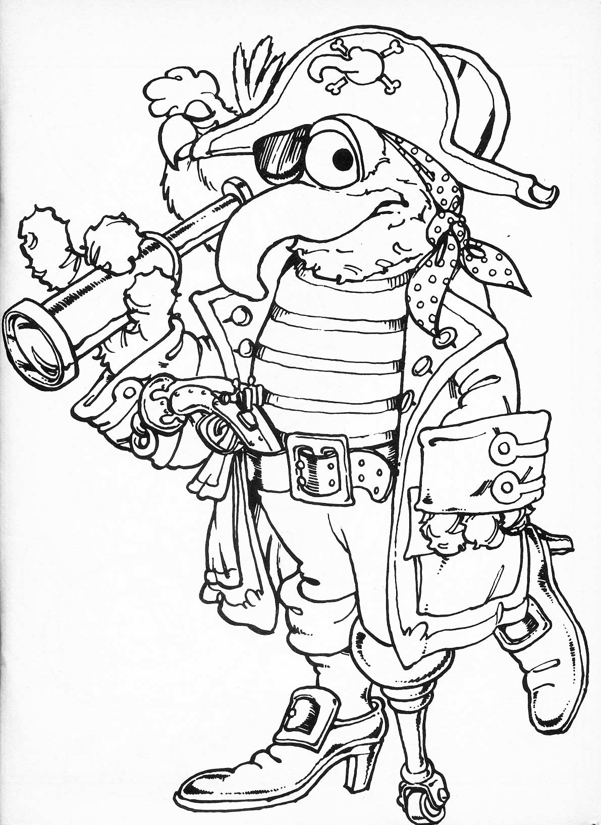 1191x1635 Muppets Drawing