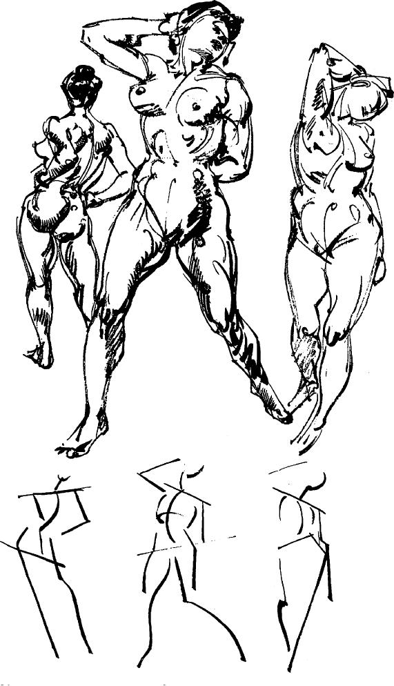 571x994 How To Draw People With Human Anatomy Lessons How To Draw