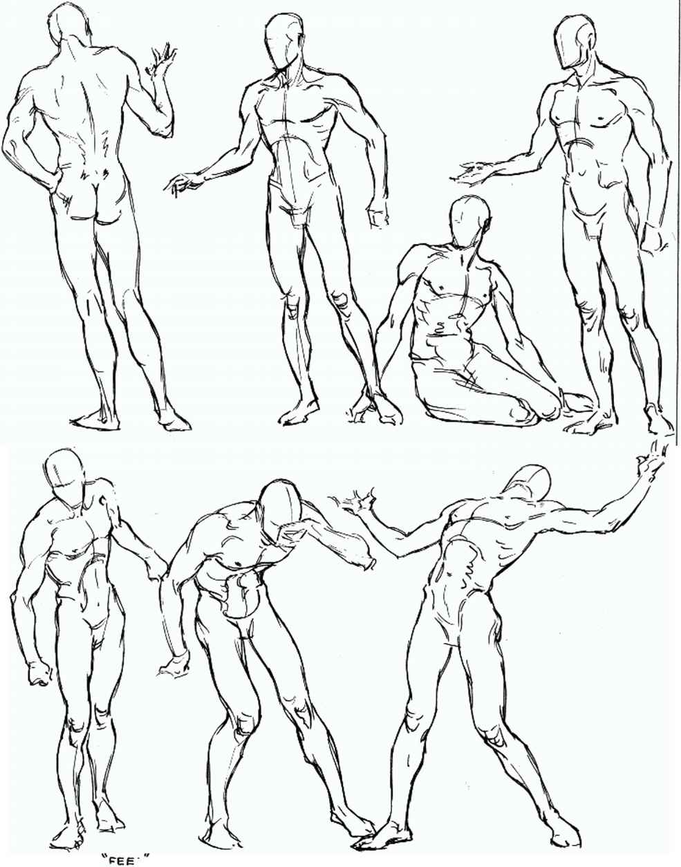 985x1254 Sketching The Figure In Action From Imagination