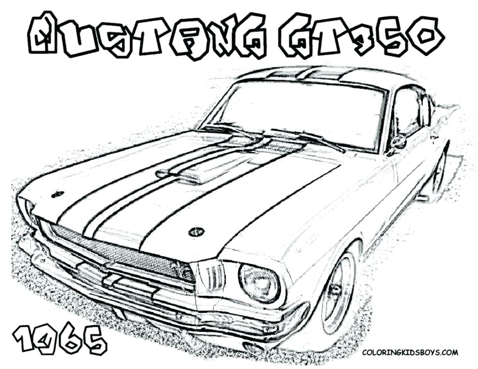 muscle car drawing at getdrawings com