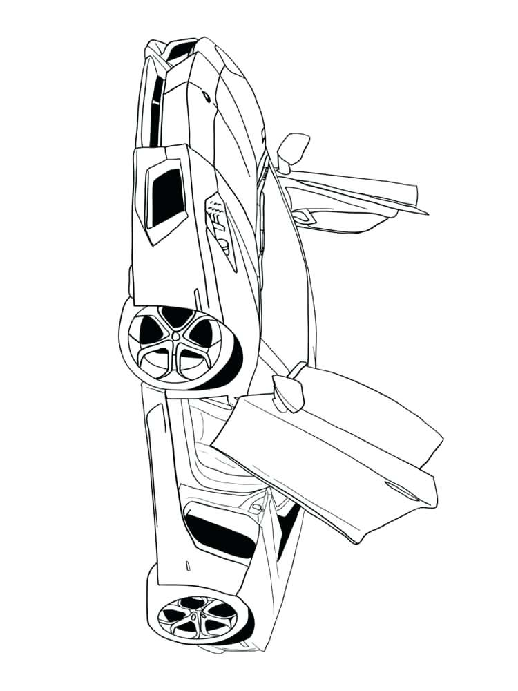 750x1000 Good Muscle Car Coloring Pages Crayola Photo Free Printable