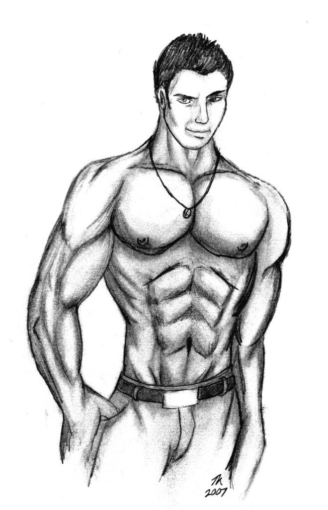 660x1026 Muscle Man by TK 07 on DeviantArt