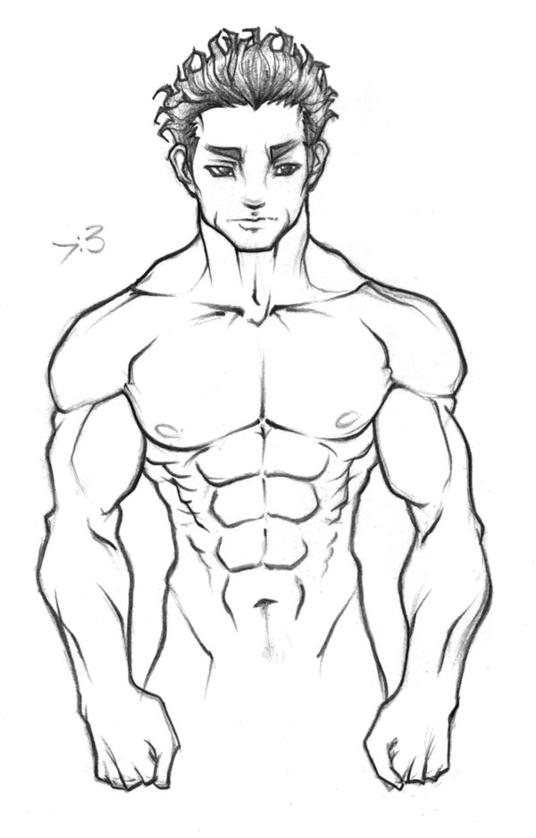600x937 Muscle Test 1 Lexaeus by Meaningfull on DeviantArt