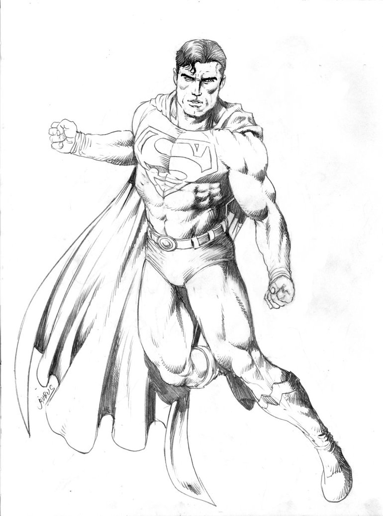 770x1038 Muscle Man Coloring Page Printable Coloring Pages