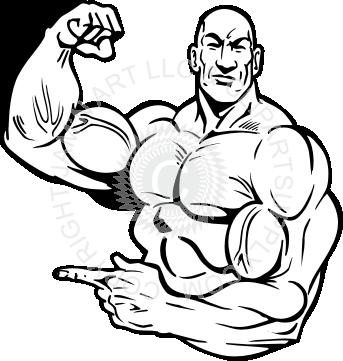 343x361 Flexing Muscle