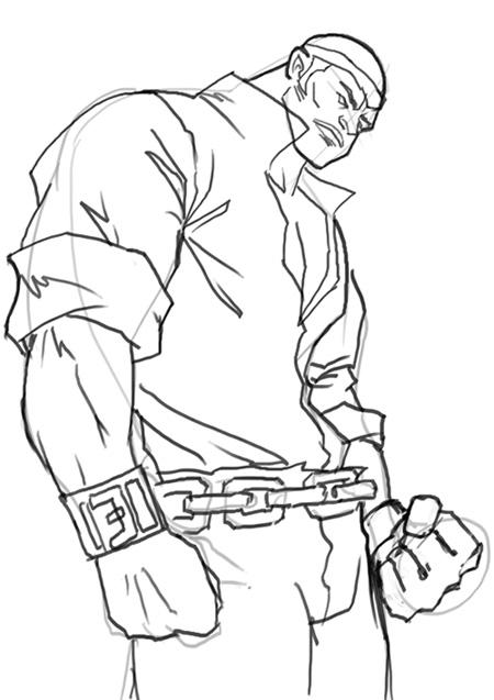 450x637 How To Draw Power Man Luke Cage