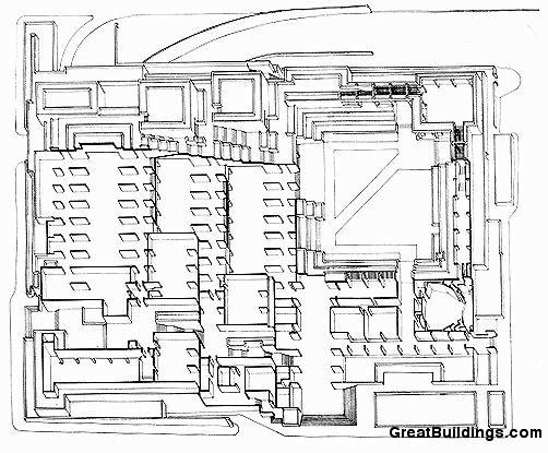 502x415 Great Buildings Drawing