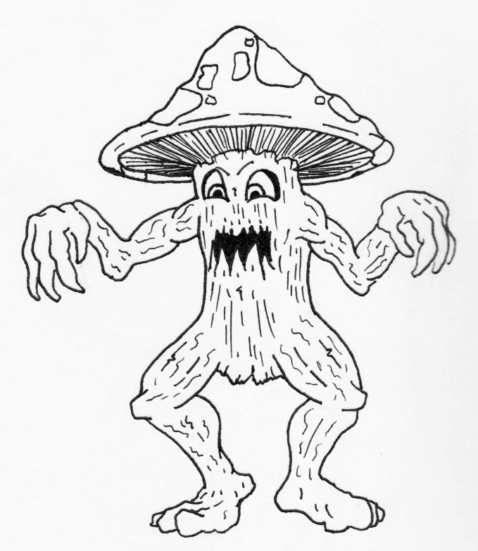 679x783 Jared Unzipped Draw Something Mushroom Monster