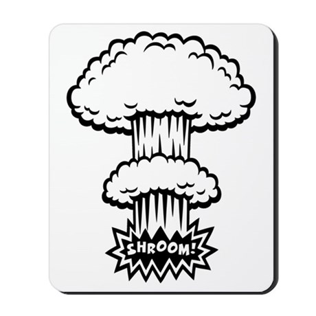 460x460 Mushroom Cloud Mousepads Buy Mushroom Cloud Mouse Pads Online