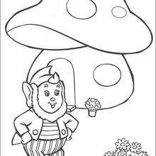 220x220 Big Ears' Mushroom House Coloring Pages