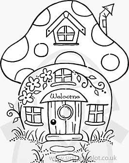 266x337 Trippy Mushroom Designs To Draw So Clear Magic