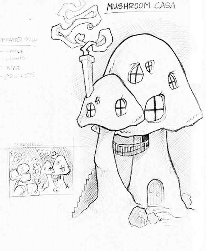 656x800 Mushroom House By Big Trs