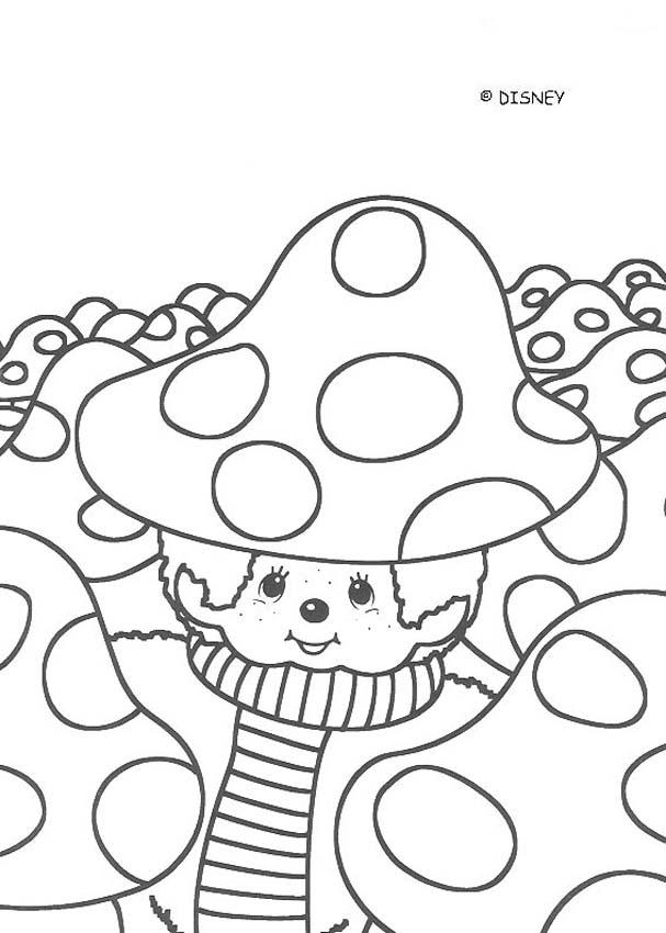 607x850 Mushroom Coloring Pages, Drawing For Kids, Reading Amp Learning