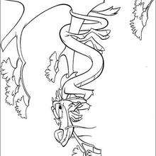 220x220 Fa Mulan And Mushu The Guardian Of The Fa Family Coloring Pages