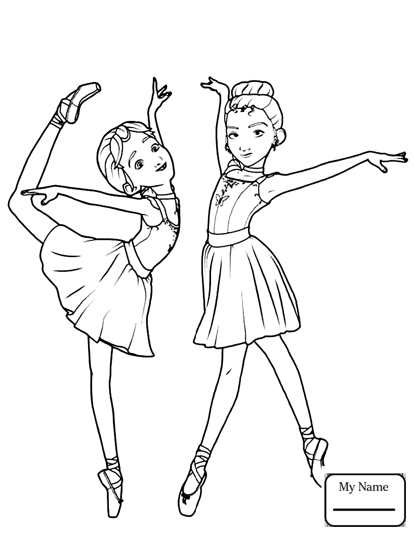 818x1059 Coloring Pages For Kids Ballerina Music Box Leap Ballerina