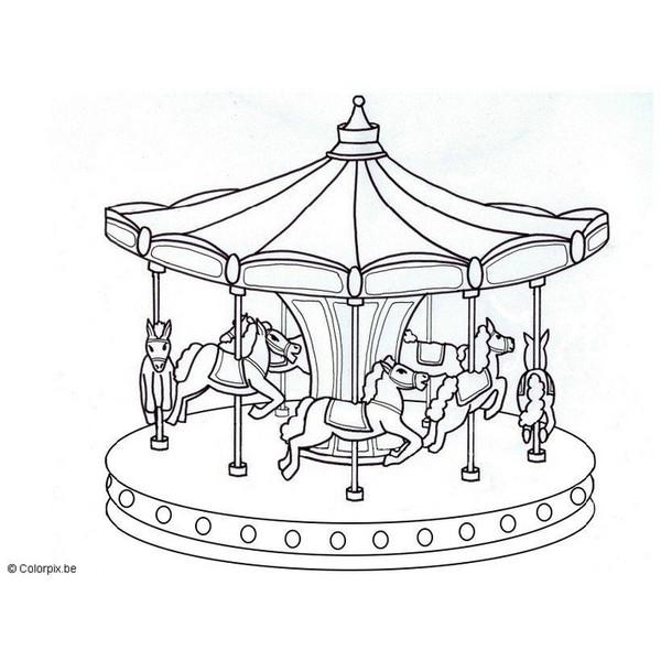 600x600 Music Box Carousel