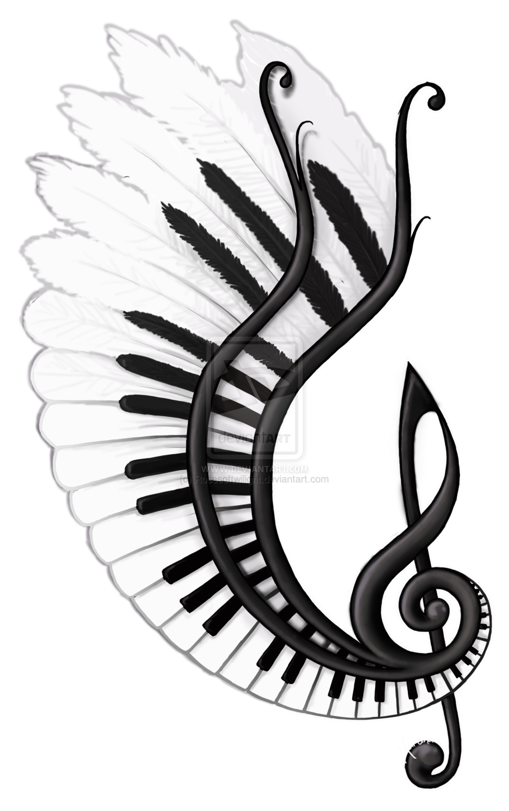 1024x1629 Image Result For Music Related Drawings Tattoos