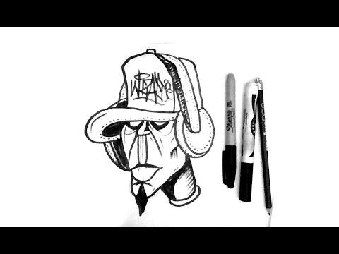 480x360 Como Dibujar Un Personaje De Graffiti