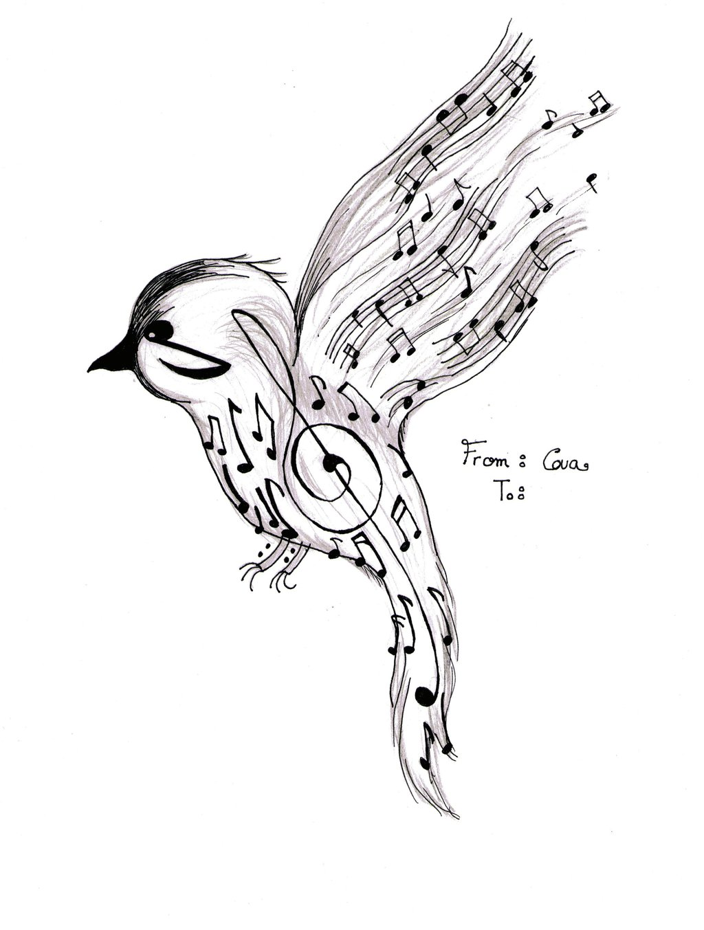 1024x1353 Music Bird By Girlfromhogwarts