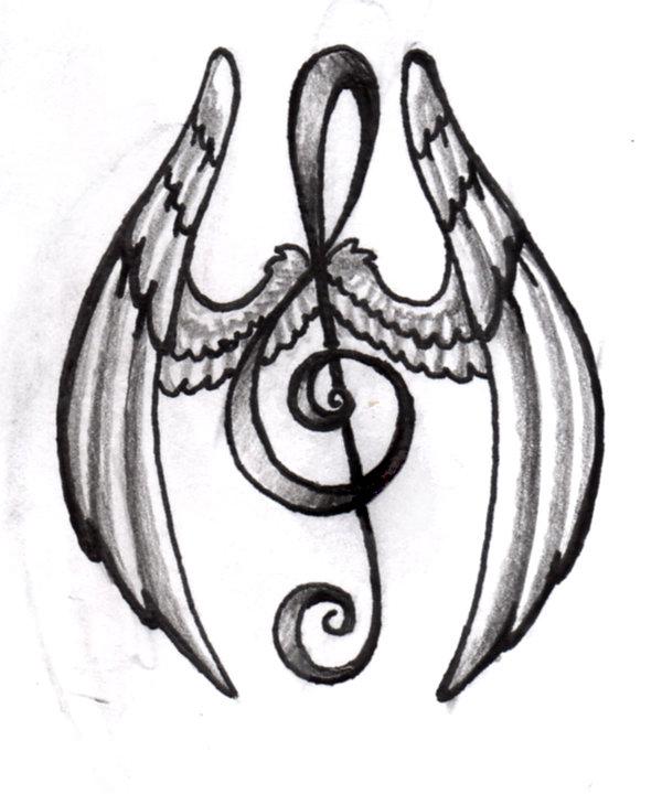 600x720 Asavelouria Music Note Tattoos Good Ideas