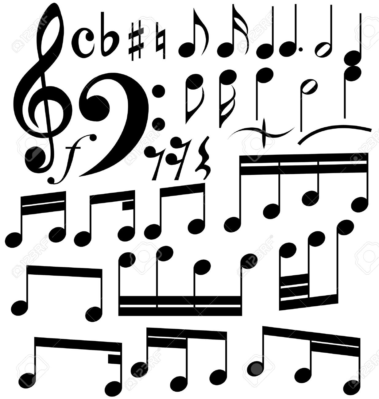 Music Note Symbol Drawing At Getdrawings Free For Personal Use