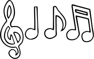 302x190 Best Photos Of Music Symbol Templates