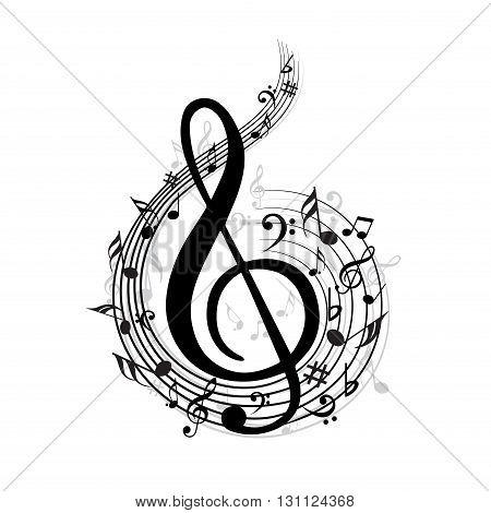 450x470 Creative Music Note Different Vector Amp Photo Bigstock