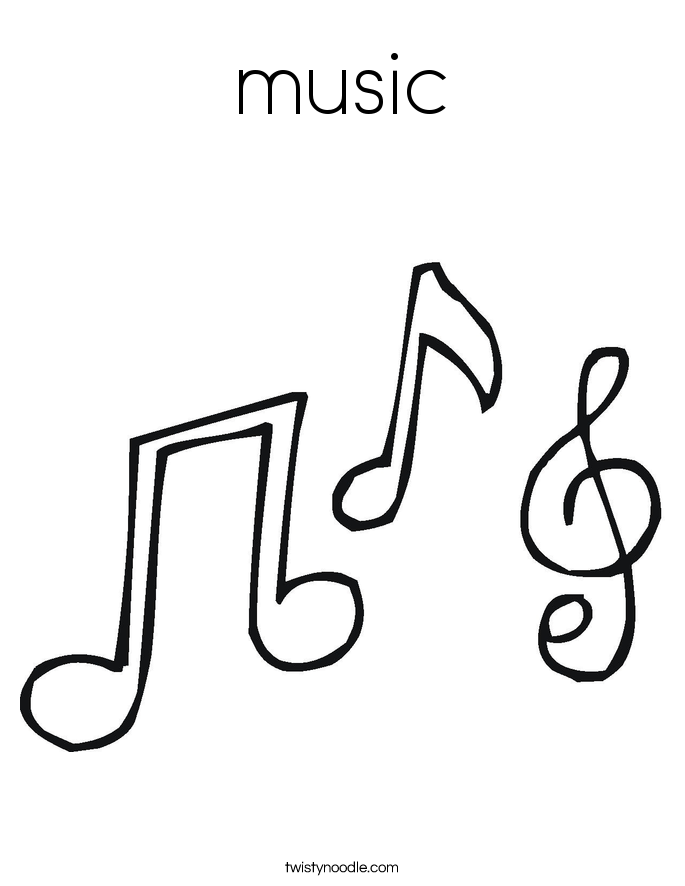 685x886 Music Notes Coloring Pages