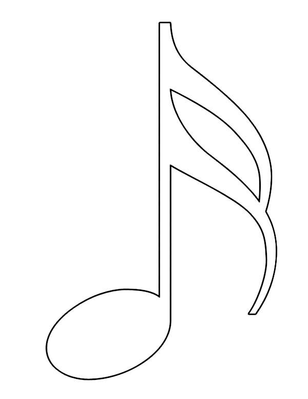600x776 music note coloring pages art pinterest