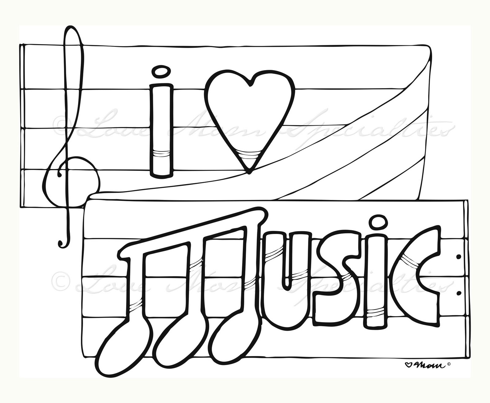 This is a graphic of Revered Free Printable Music Coloring Pages