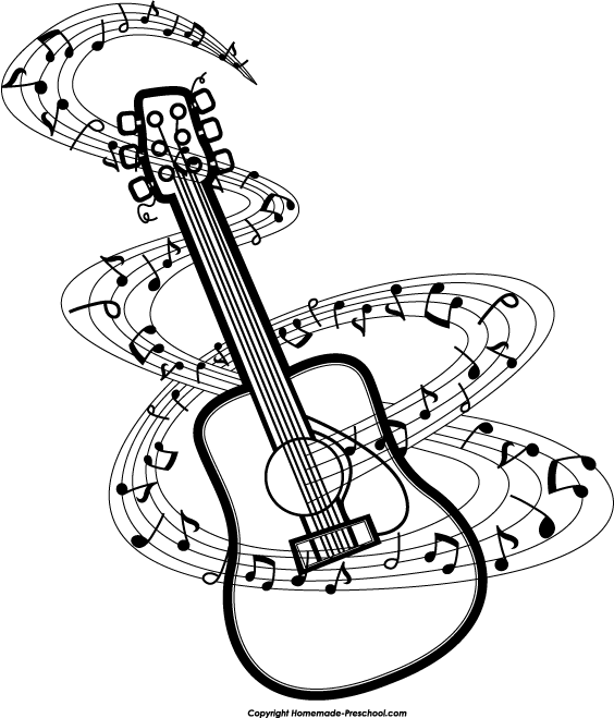 564x659 Music Note Clip Art Musical Notes Music Clipart Free Music Images