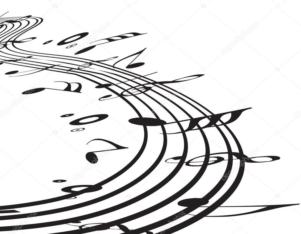 1023x796 Music Notes Stock Vector Redshinestudio